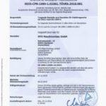 WPK Zertifikat DIN EN 1090 MTO Maschinenbau GmbH
